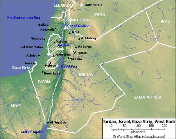 Jerusalem Karte Heute.Nahostkonflikt Israel Palastina