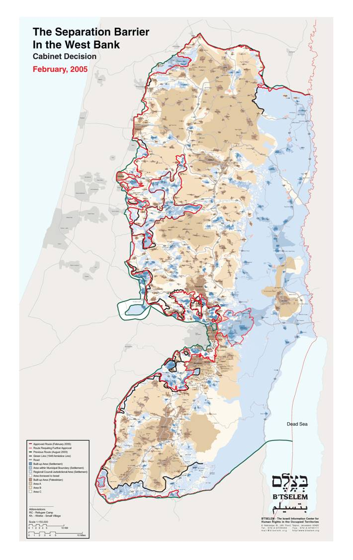 Nahost Karte.Nahostkonflikt Israel Palästina