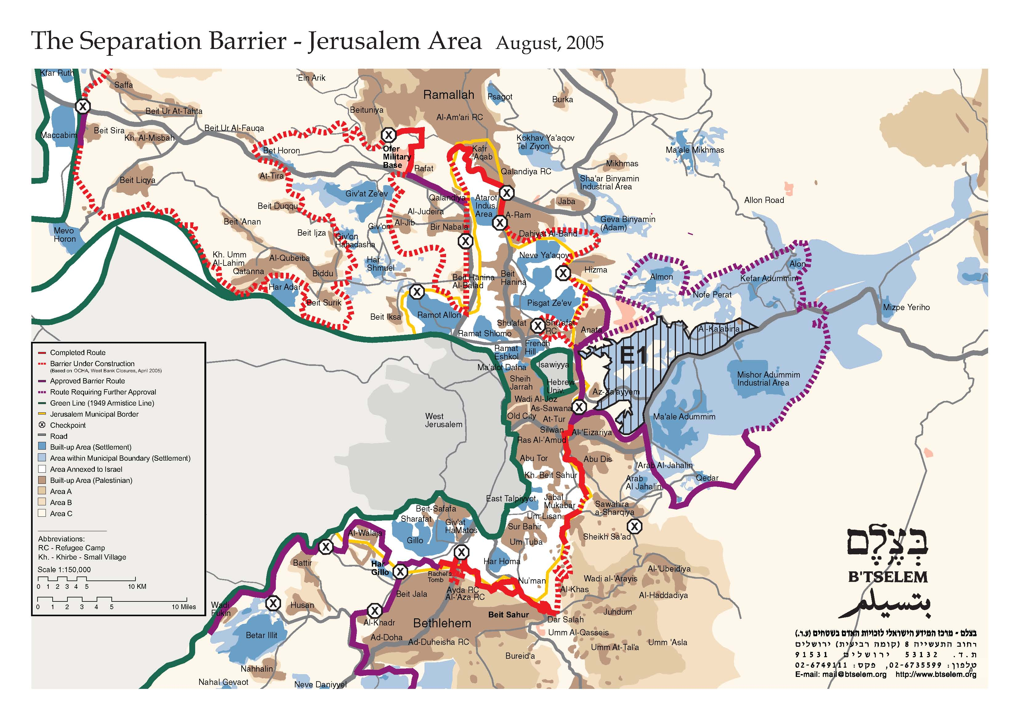 Jerusalem Karte Deutsch.Nahostkonflikt Israel Palästina